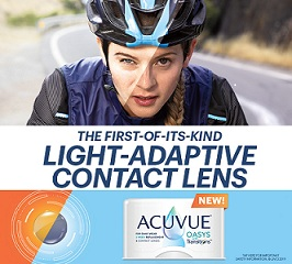 Acuvue Oasys Transition Contact Lenses Light To Dark